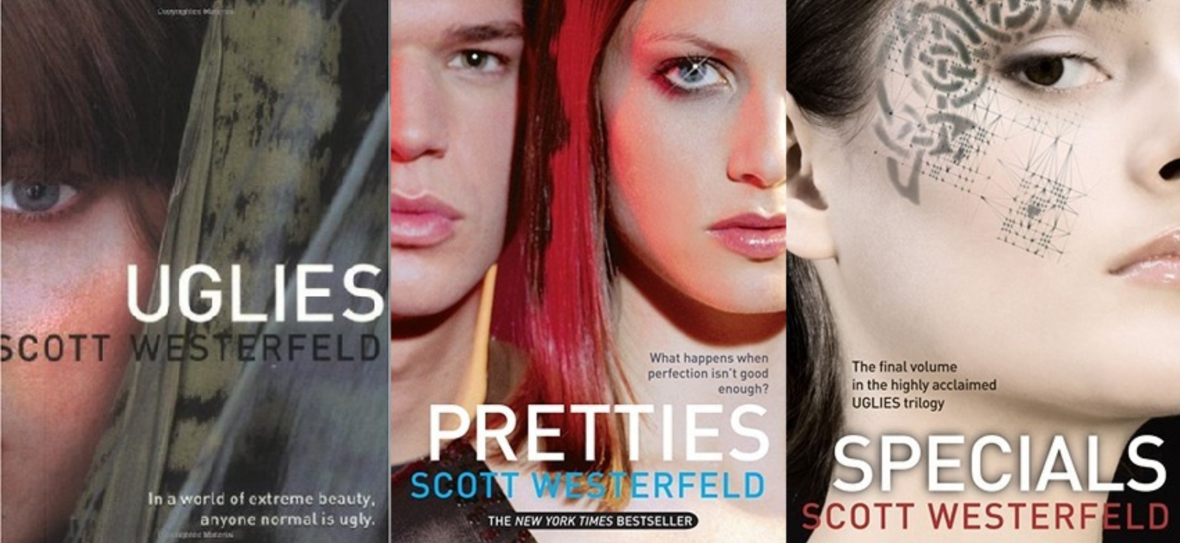 book series review uglies I recommend uglies as a good book to generate discussion about the importance of beauty and conformity in any society.