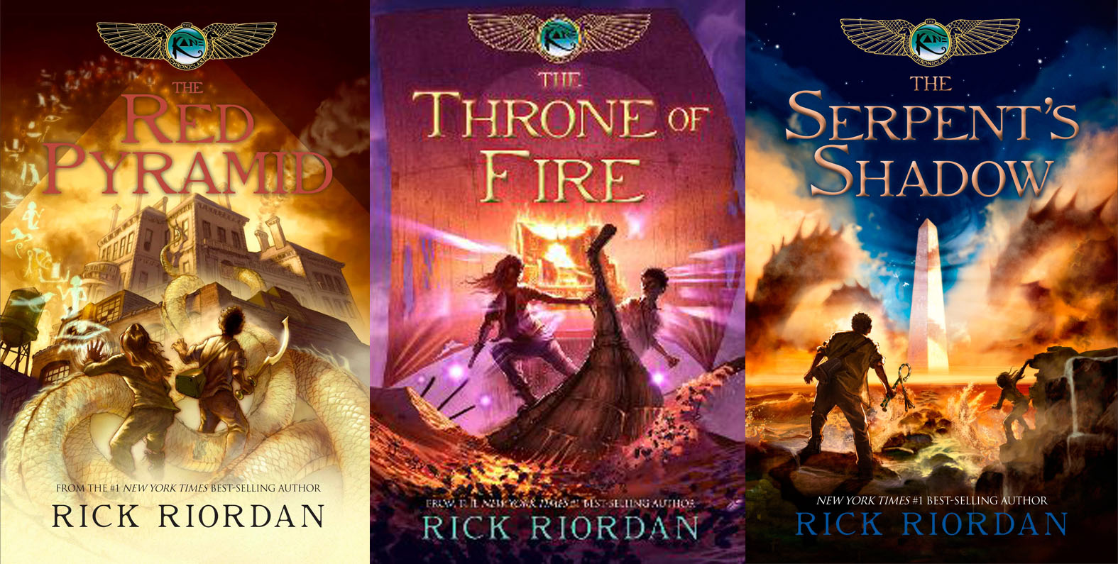 Review: The Kane Chronicles by Rick Riordan – Heart Full of Books